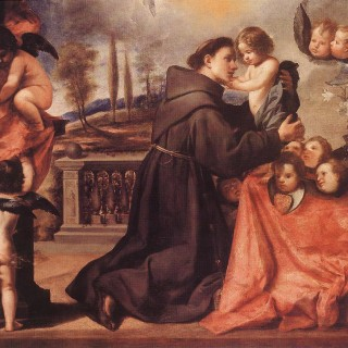 Antonio_de_Pereda_y_Salgado_-_St_Anthony_of_Padua_with_Christ_Child_-_WGA17167