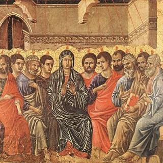 450px-Duccio_di_Buoninsegna_-_Pentecost_-_WGA06739