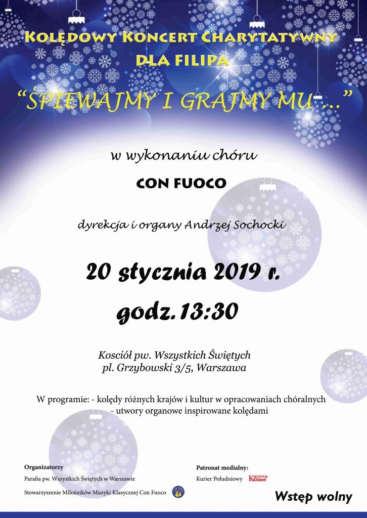 charytatywny koncert kolęd 01.2019